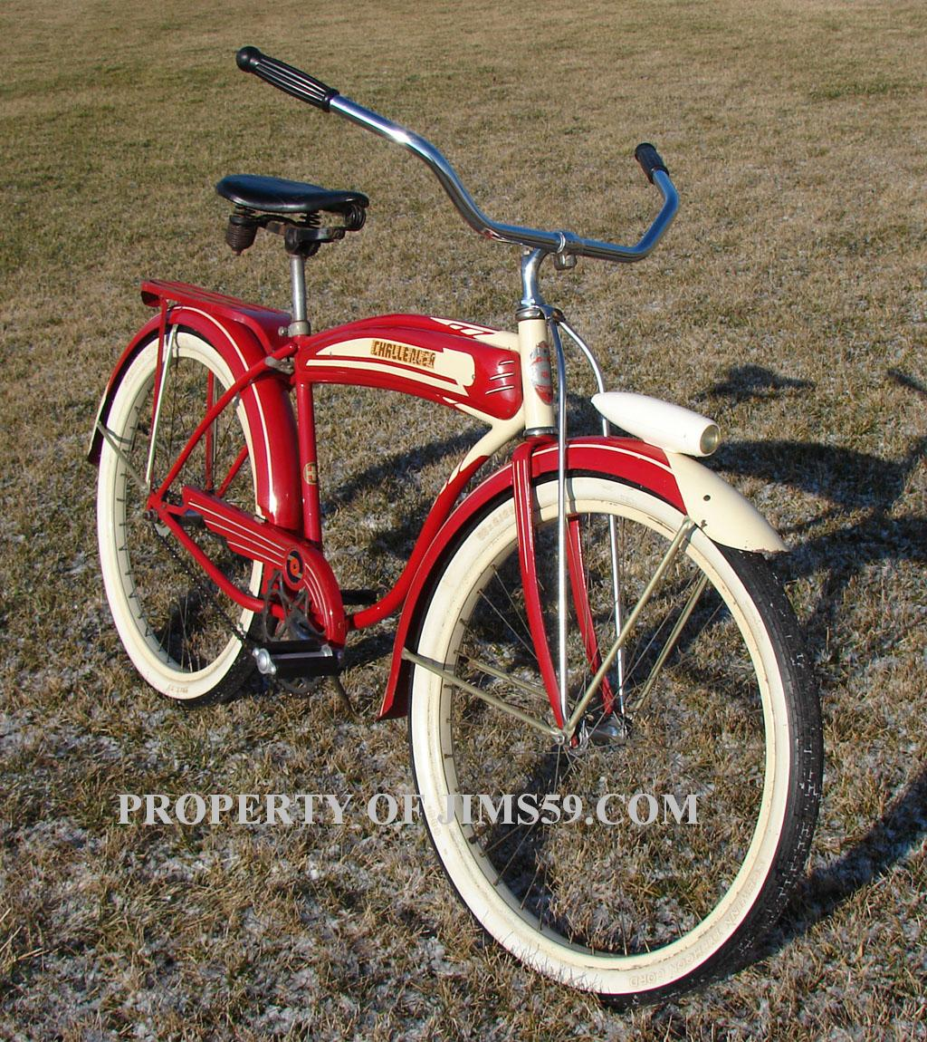 784dd709cb7 B.F. GOODRICH CHALLENGER. Same as the Schwinn DX model.  1946_Schwinn_B_F_Goodrich_Challenger_bike_. chain.  1946_Schwinn_B_F_Goodrich_Challenger_bike_